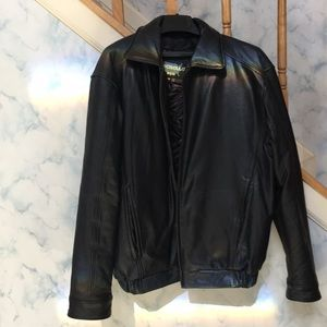 Genuine Leather Jacket with removable lining